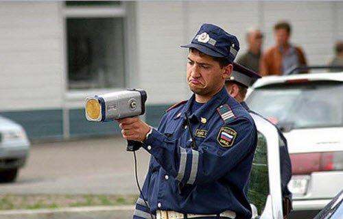 Применение радар – детектора бывает огорчает дорожную полицию