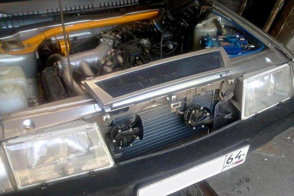 Радиатор системы охлаждения ДВС ВАЗ 2109 фото