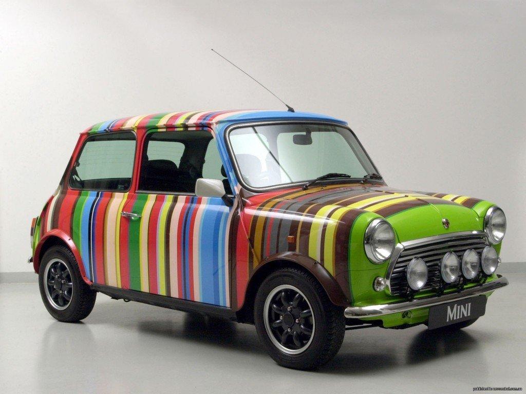 Вариант покраски автомобиля