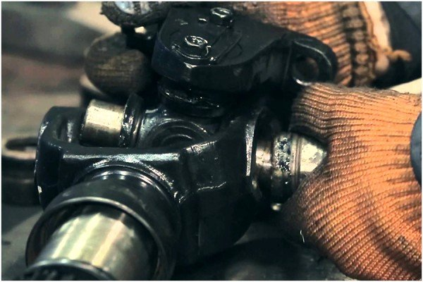 Разборка кардана ГАЗель