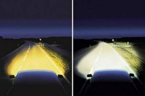 Почувствуйте разницу между ксеноновыми и галогенными лампами