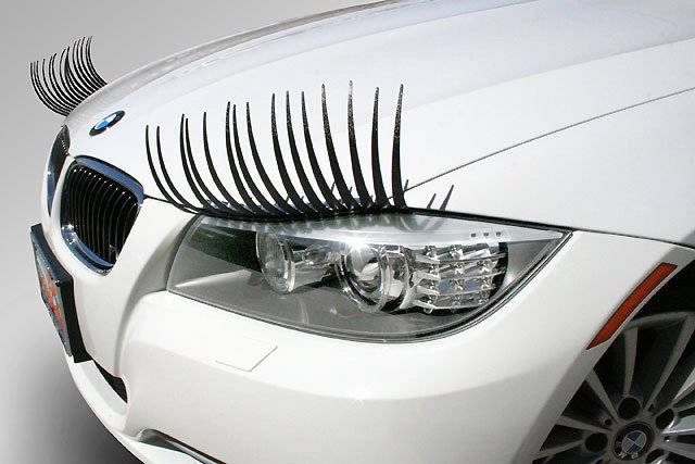 Реснички на BMW