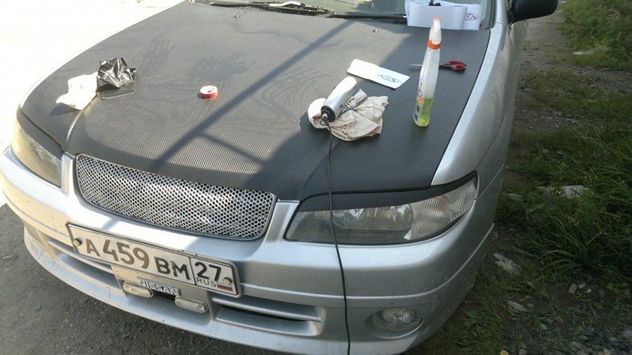 "Готовые ""реснички"" на Nissan"
