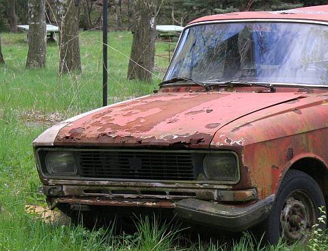 Автомобиль – не в лучшем состоянии, но и его можно вылечить