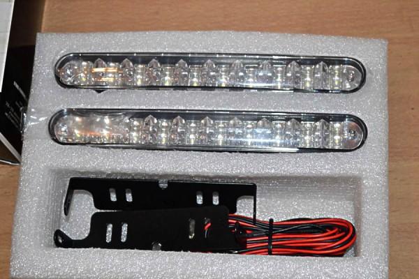 Ходовые огни рядной конфигурации