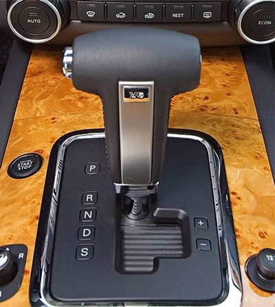 Рычаг переключения автоматической коробки передач - Tiptronik (типтроник)