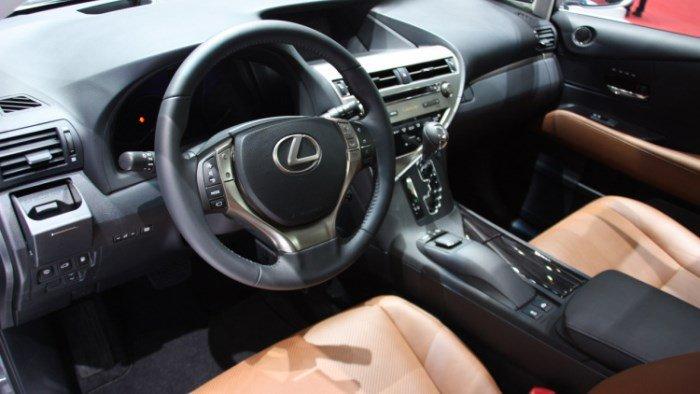 Салон Lexus RX 270 2016-2017 года