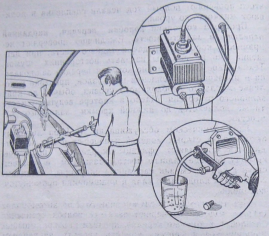 Как одному прокачать сцепление на ваз 2106