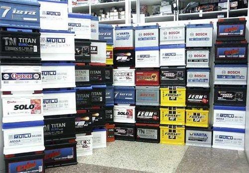 В автомагазинах представлен широкий ассортимент аккумуляторов различных производителей