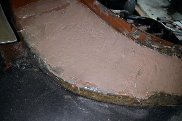 Шпаклевание стекловолокном кузовной ремонт