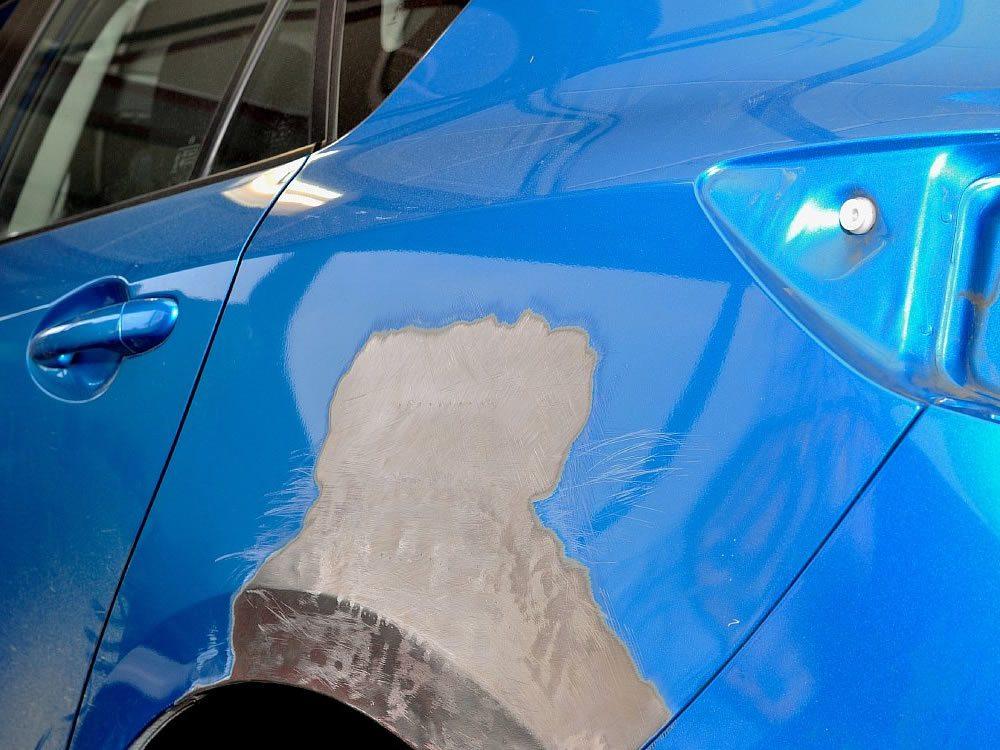 Шпаклевка покраска своими руками авто