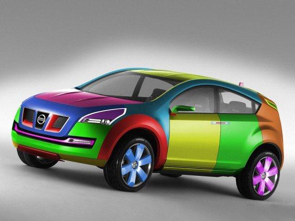 Цвет краски для покраски авто