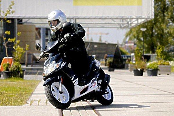 Как получить права на скутер 50сс