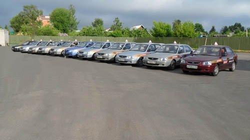 Учебные автомобили автошколы