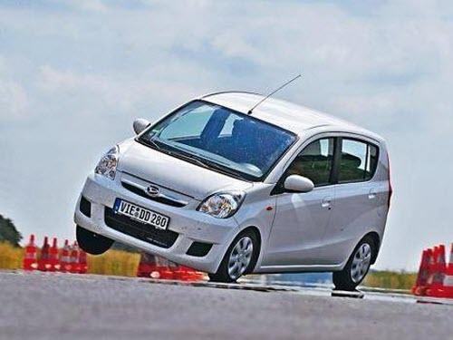 АСС стабилизирует положение машины при повороте
