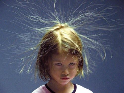 Статическое электричество повсюду и абсолютно безвредно