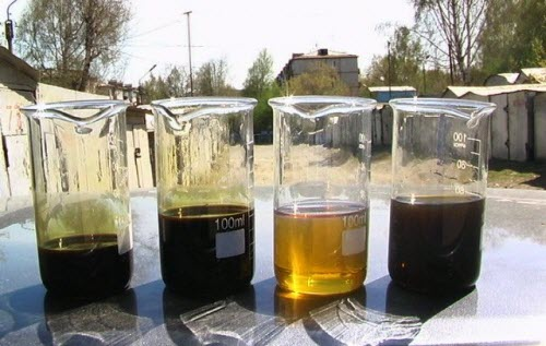 Степень очистки моторного масла разная для всех типов двигателей