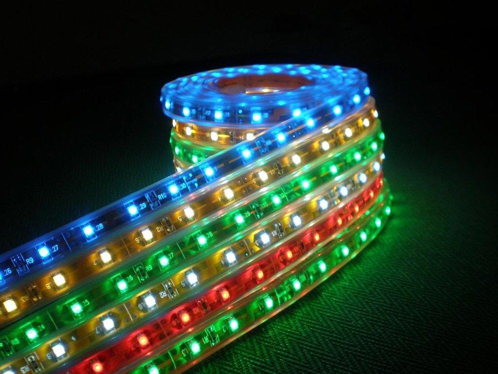 Светодиодная лента для подсветки пола авто