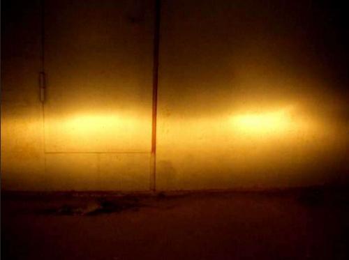 Так выглядит отрегулированный световой пучок света фар на практике