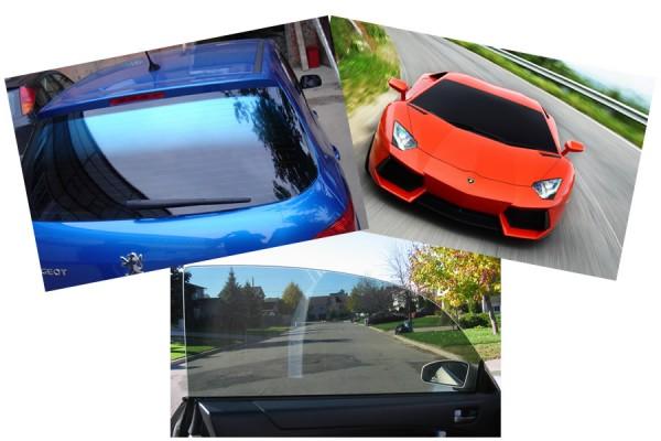 Тонированные стекла автомобилей