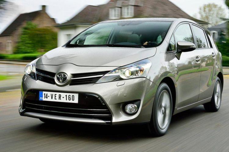 Обновленная Toyota Verso 2020-2021 года
