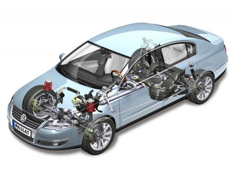 Устройство трансмиссии автомобиля достаточно сложное