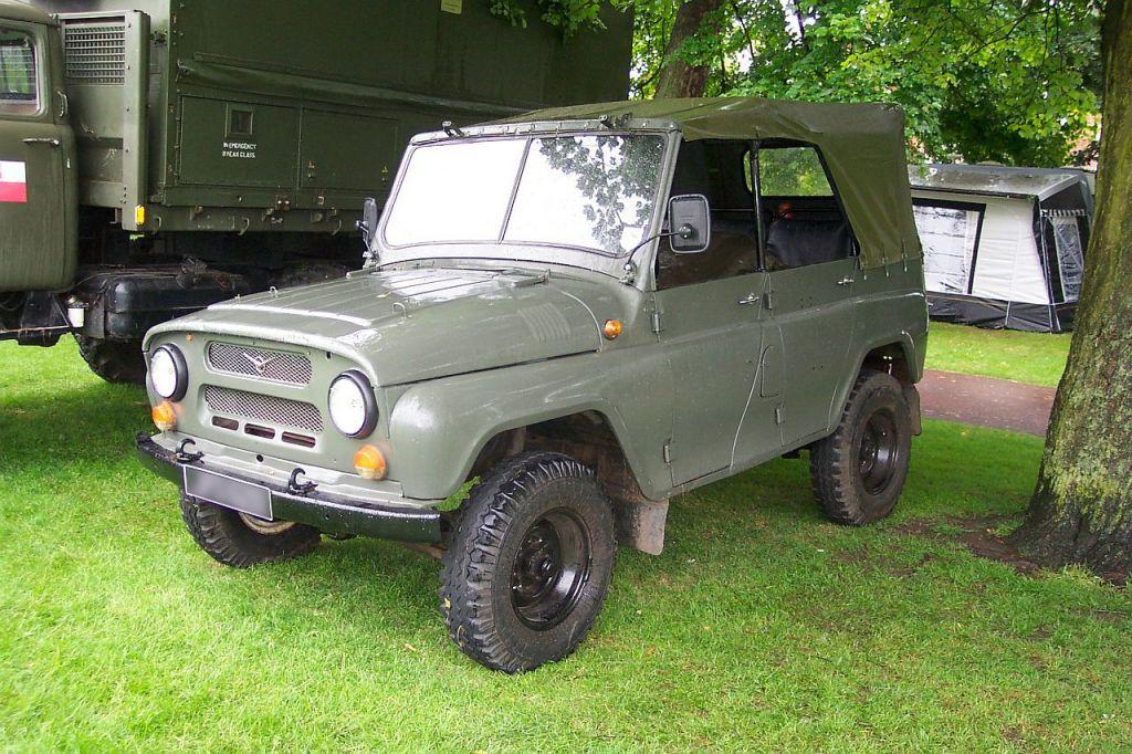 УАЗ 469 - незаменимый внедорожник в армии