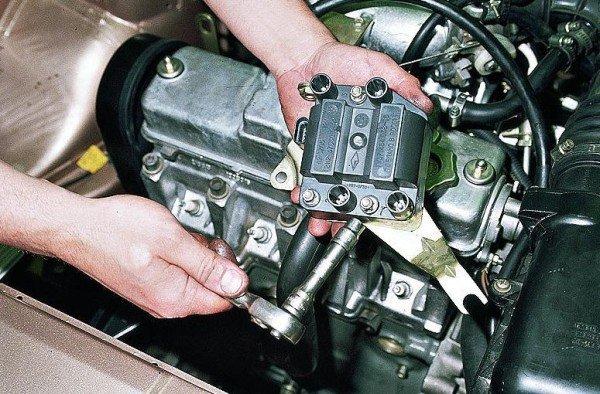 ремонт блока управления двигателем