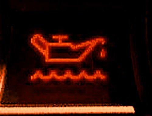 Датчик низкого уровня масла в двигателе