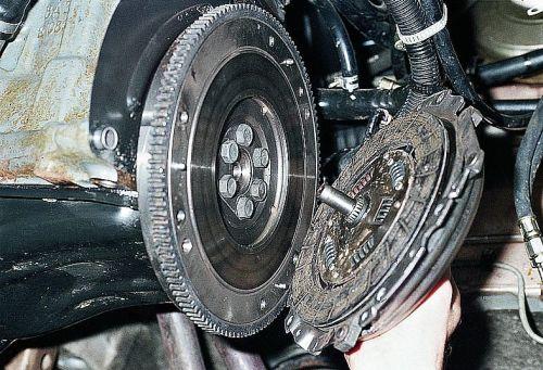 Поломка ведомого диска
