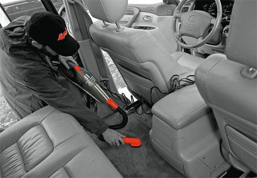 Магазины предлагают различные автомобильные пылесосы