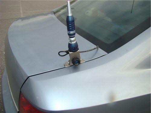 Вариант установки внешней антенны