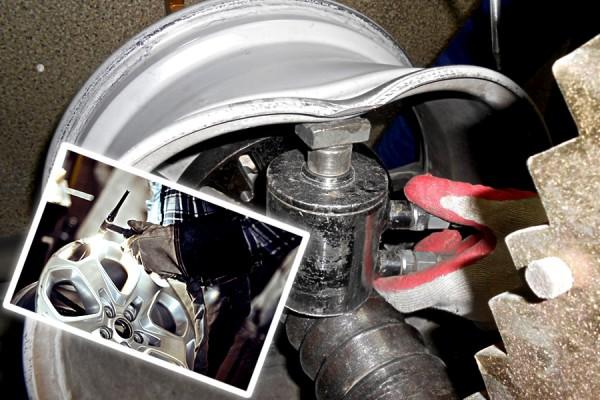 Восстановление геометрии литых дисков