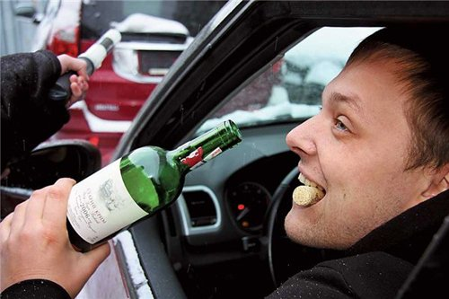 Вождение в состоянии алкогольного опьянения – самая распространенная причина лишения прав