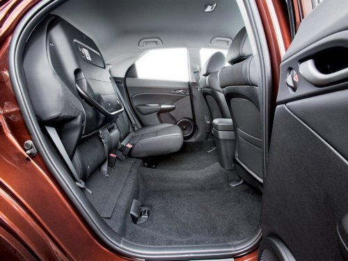 Возможности трансформации салона Honda Civic 5D