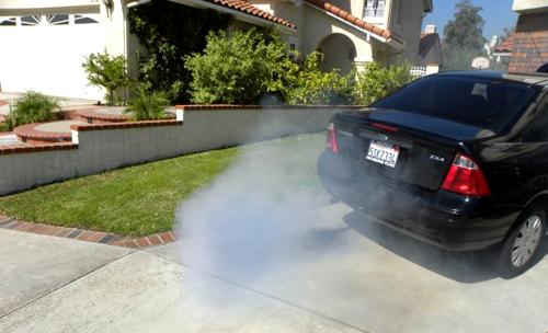 …или о неполадках в вентиляции картера двигателя