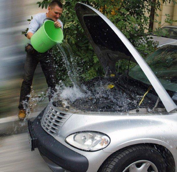 При отсутствии правильного охлаждения водяной насос вашей машины находится в зоне риска