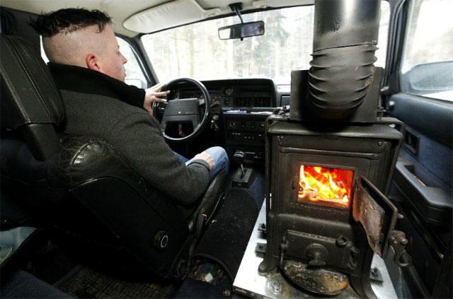 Зимой так хочется тепла в автомобиле