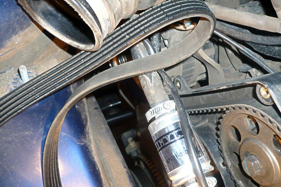 Фото №32 - свистит ремень генератора ВАЗ 2110