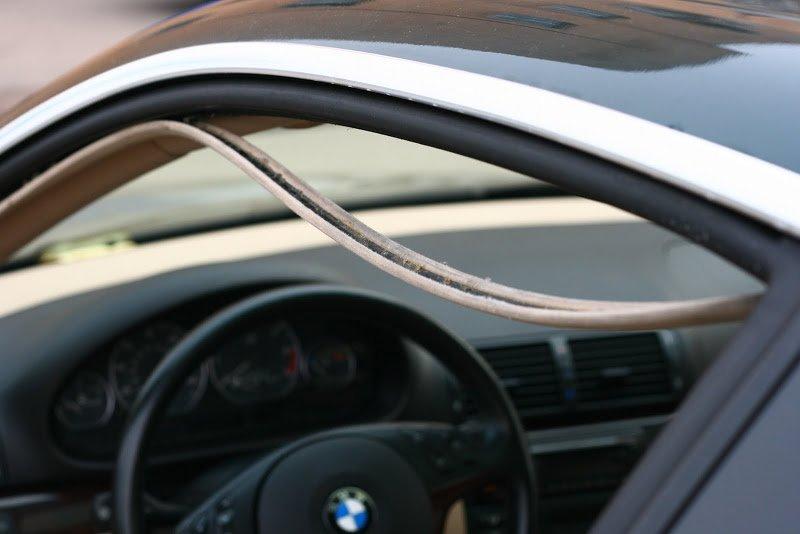 Подготовьте резиновые изделия в автомобиле