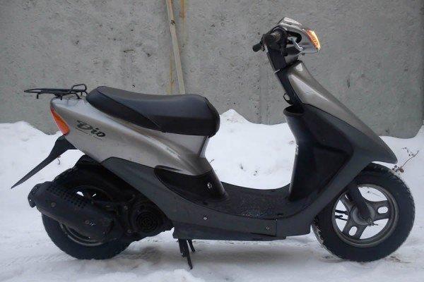 Завести скутер Хонда Дио