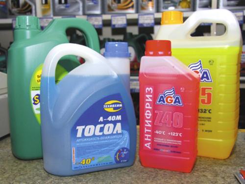 С наступлением морозов используйте незамерзающие жидкости в системе охлаждения двигателя